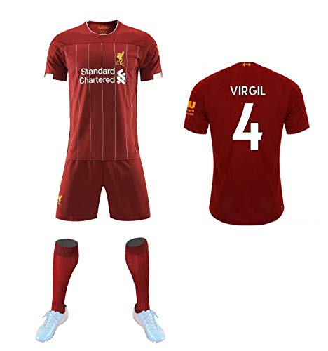 QZH Liverpool Football Club 2019/2020 Home, give Socks, Children