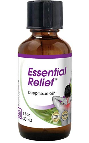 Baseline Nutritionals Essential Relief for Deep Tissue Relief and Support, Natural Topical Oil