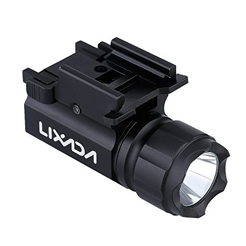 Lixada-LED-Tactical-Gun-Flashlight-600LM-2-Mode-Handgun-Torch-Light