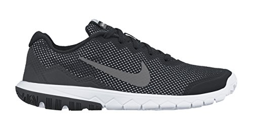 Nike Kids Flex Experience 4 (GS) Running Shoe-Black/Anthracite/White/Mtlc Dark (Youth Nike Shoes)