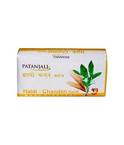 Patanjali Haldi Chandan Kanti Body Cleanser Pack Of 3 bathing Soap 150 Gm
