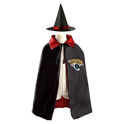 Jacksonville-Jaguars Kid Halloween Cloak Vampire Cape Witch Hat Cosplay