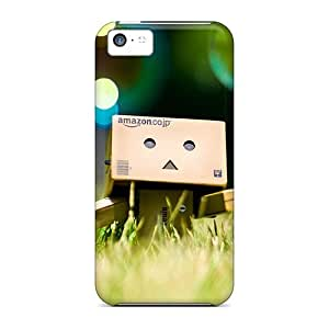 Iphone 5c Danbo And Bubble Print High Quality Tpu Gel Frame Case Cover