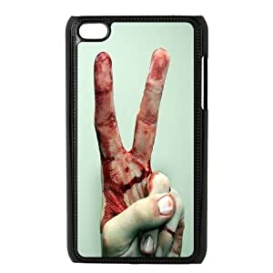 DIY Bloody Hand Ipod Touch 4 Case, Bloody Hand Custom Case for iPod Touch4 at Lzzcase