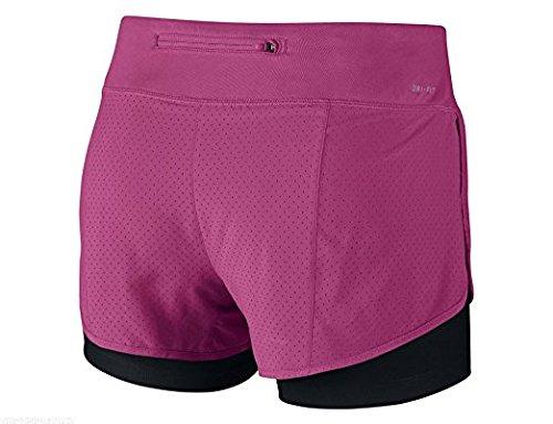 2 Pantalón Mujer Rival in Pantalones Rosa Para Cortos Nike Perforated 1 At1dnAwq