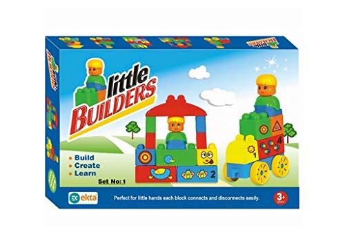 EKTA   Little Builders Set 1  Building Blocks