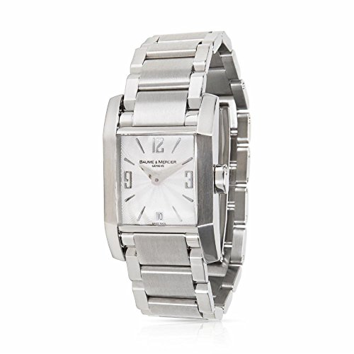 Baume & Mercier Hampton 65488 Women's Watch in Stainless Steel (Certified Pre-Owned)
