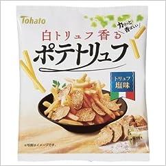 【スナック菓子の新商品】東ハト ポテトリュフ トリュフ塩味 70g×12入