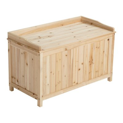 5.7 Cu. Ft. Cedar/Fir Outdoor Storage Deck Box