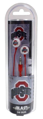 US Digital NCAA Ohio State Buckeyes Blast Earbud Headphones