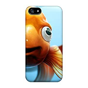 Hot New 3d Goldie Cases Covers For Iphone 5/5s With Perfect Design