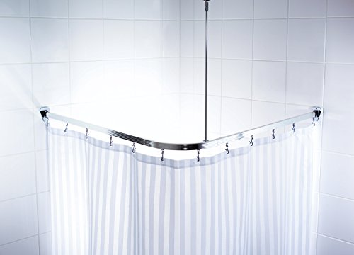 Ridder 525000 350 struttura angolare per tenda doccia 90 x 90 x