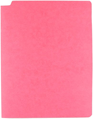 - Sparco Fastener Folder with 2-Ply Tab, 2 Fasteners, Letter, 50 per Box, Red (SPRSP17247)