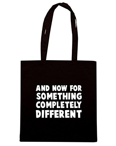 T-Shirtshock - Bolsa para la compra OLDENG00383 and now Negro
