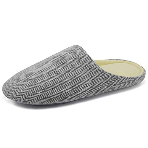ofoot Women's Indoor Slippers,Memory Foam Washable Cotton Non-Slip Home Shoes