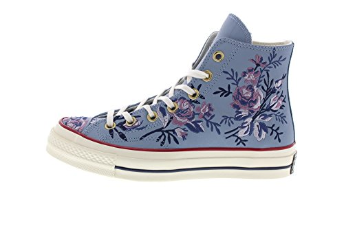 Converse Taylor Washed Egret Dust Multicolour Violet 444 Sneakers Women's Denim Low Top Hi Chuck 70 OrOqFxz