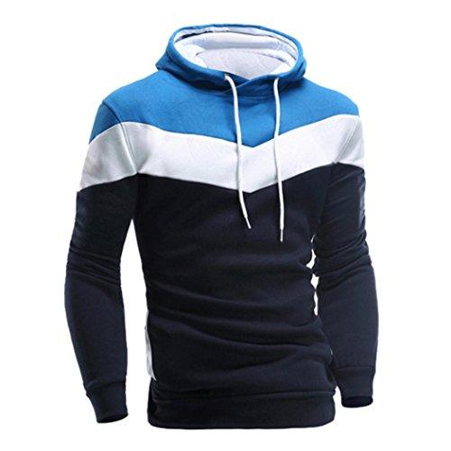Men's Sweater,Neartime Retro Winter Hoodie Men Hooded Sweatshirt Jacket Coat Outerwear (M, - Cheap Guy