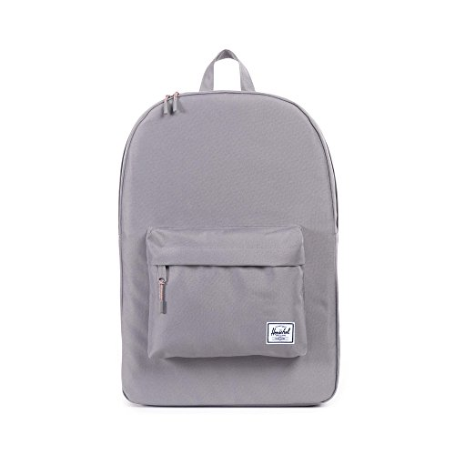 Herschel Classic Backpack-Grey (Best Herschel Backpack For High School)