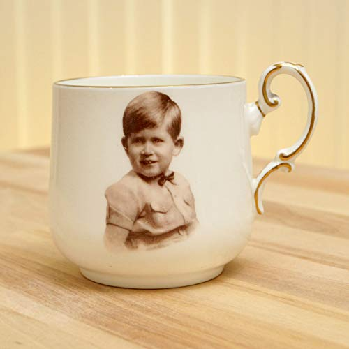 Bone China Paragon (A Souvenir Cup of Prince Charles/Paragon by Appointment fine Bone China England Regd. Portrait by Marcus Adams)