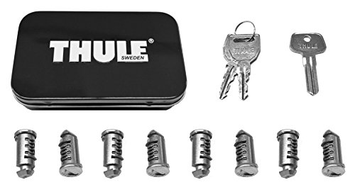 Thule 588 Lock Cylinders for Car Racks (8-Pack)