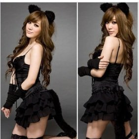 Shiny Cat Girl Transformation Set Cat Ears Cosplay Set Of 5 Bear