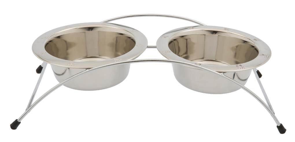 Petrageous Designs Aruba 3pc Pet Diner with Stainless Steel Pet Bowls by Petrageous Designs (Image #1)