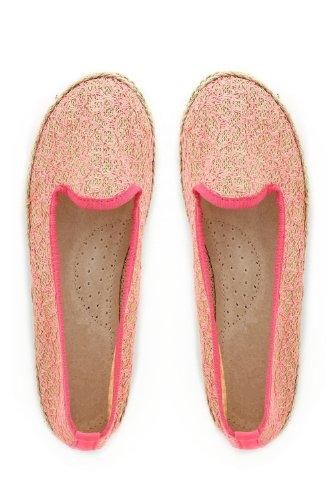 mujer Zapatillas ballet de rosa Tendance para Go vvCB7qRw