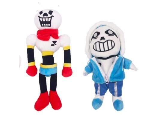YOYOTOY 2Pcs/Set 30Cm Anime Undertale Plush Toys Undertale Papyrus Asriel Toriel Stuffed Plush Toys Doll for Kids Children Gift New Must Haves Friendship Gifts My Favourite 4T Superhero Unboxing Toys by YOYOTOY