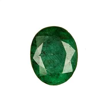 Esmeralda verde natural AAA++ de calidad de 7,30 ct, esmeralda certificada, corte ovalado, piedra esmeralda verde facetada