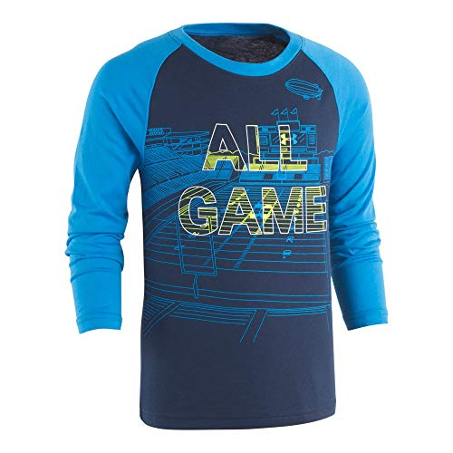 Under Armour Boys' Baby Long Sleeve Graphic Tee Shirt, All All Game Academy 18M