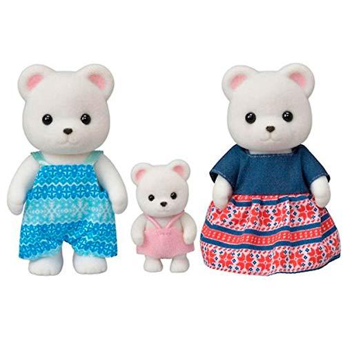 Sylvanian Families 5396 Polar Bear Family, Multi