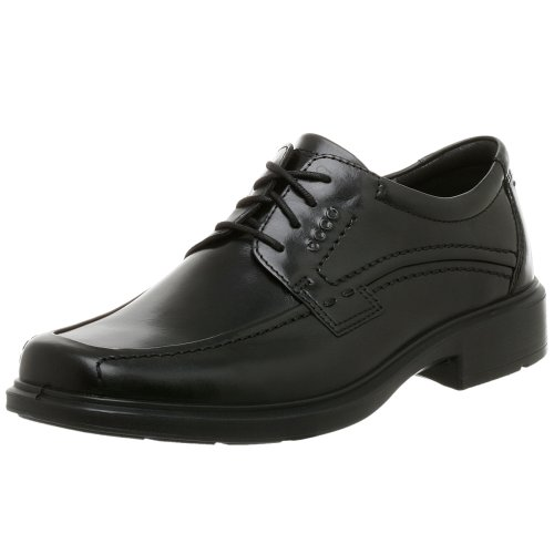 ECCO Men's Berlin Apron Toe Oxford,Black,42 EU (US Men's 8-8.5 ()