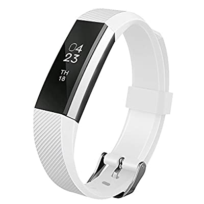 UMTELE Soft Silicone Replacement Band for Garmin vivoactive HR GPS Watch