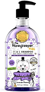The Honey Keeper Shampoo 3 En 1 The Honeykeeper Lavender Dreams 414 Ml, Color, 1 Ml, Pack Of/Paquete De