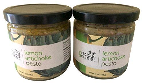 (The Gracious Gourmet Lemon Artichoke Pesto, 14 Ounce)