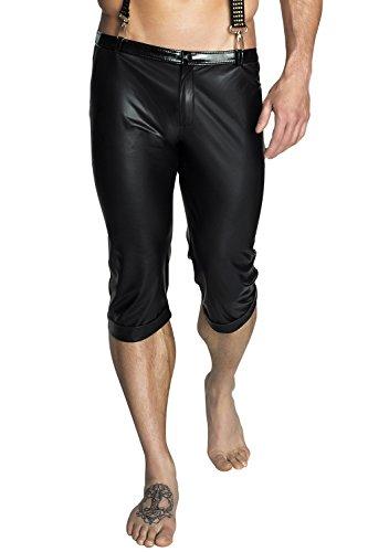 Negro Básico Noir Pantalón Mujer Para Handmade n4H6vqO
