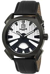 Lancaster Men's  OLA0346BK/NR Lanza Black and silver Dial Watch Model
