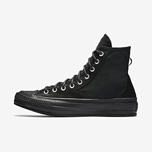 Converse CTAS 70 Hiker HI Mens Skateboarding-Shoes 157487C_8.5 - Black/Black/Black