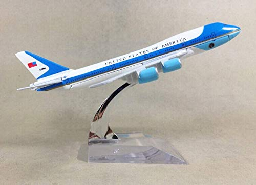 GUOLIAN 1:400 16cm Air Force One Boeing B747 Metal Airplane Model Plane Toy Plane Model