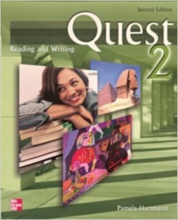 Quest 2 reading and writing
