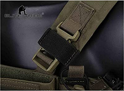 Paintball Equipment MK3 Modular Lightweight Chest Rig Micro Fight Chissis 5.56 Mag Pouch Wolf Gray