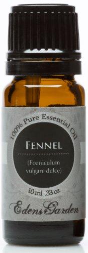 Фенхель сладкий 100% Pure терапевтической степени чистоты Эфирное масло 10 мл