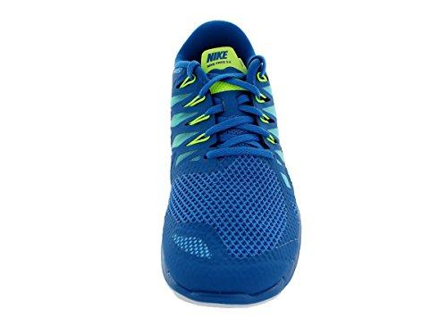 Nike Heren Gratis 5.0 Loopschoen Militaire Blauw / Gepolariseerde Blauw / Wit