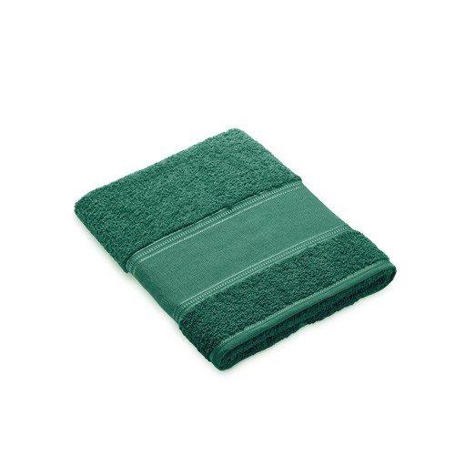 Toalla de lavabo verde oscuro para bordar a punto de cruz