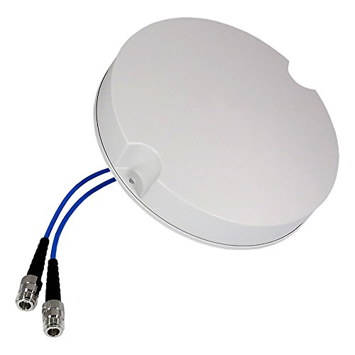Altelix Cellular 2x MIMO Ceiling Antenna Low PIM DAS 698-2700 MHz Dual N-Female by Altelix