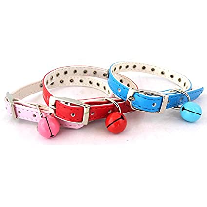 Multi-Color Multi-Pieces in one Pack PetsCaptain Adorable Cute Dog Collar Cat Collar with Different Designs and Style