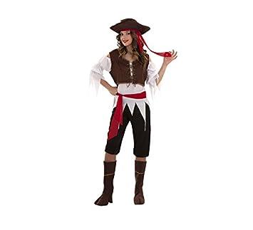 daaffbfff62 Disfraz de Pirata Caribeña talla XXL para mujer  Amazon.es  Juguetes y  juegos