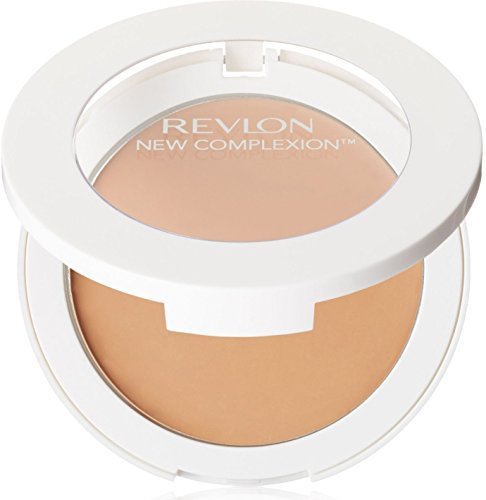 Revlon New Complexion One-Step Compact Makeup SPF 15, Natural Beige 004 0.35 oz Pack of 4