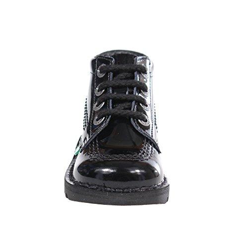 Kickers Verni Chaussures Hi Enfant Enfants Bébéécole Les Bottes PrP16q