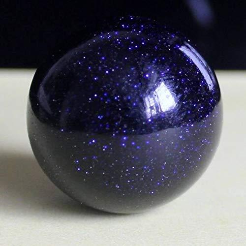 (Spiritual Elementz Reiki Healing Blue Goldstone Gemstone Sphere Ball (40-50mm).)